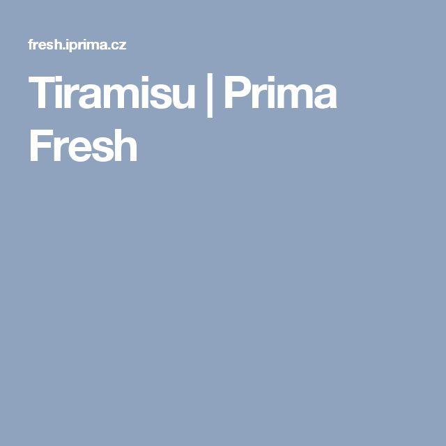 Tiramisu   Prima Fresh