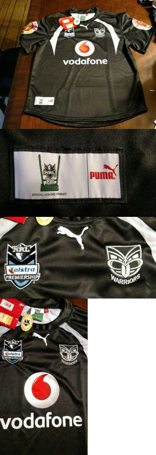 Rugby 21563: Nrl New Zealand Vodaphone Warriors Puma Authentic Rugby Jersey Size L($135) Nwt -> BUY IT NOW ONLY: $65.99 on eBay!
