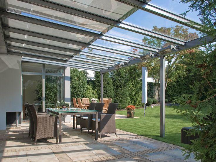 Glasdachsystem - TERRADO GP5200 / GP5210  Das clevere Glasdachsystem als Überdachung: anpassungsfähig, angenehm, elegant  Wie die TERRADO GP5100/5110 schafft auch die TERRADO GP5200/5210 die intelligente Verbindung von Überdachung und Markise. Sonne, Regen, Wind oder Schnee: Das Glasdachsystem TERRADO bietet das ganze Jahr über perfekten Allwetterschutz für Ihre Terrasse - oder leitet Sie trocken zum Auto.