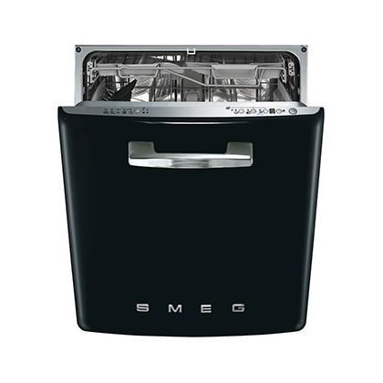 Smeg Retro 50s Style Built-in Dishwasher - Black