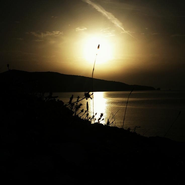 Sunrise in Aliki - Thassos