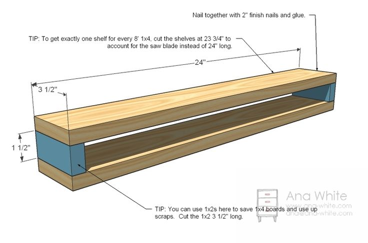build a fireplace mantel shelf | Ana White | Build a Barn Beam Ledges | Free and Easy DIY Project and ...