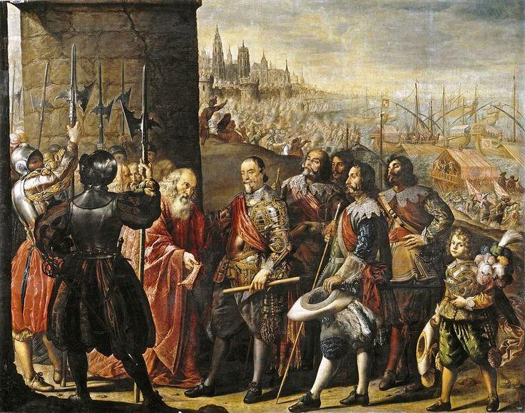 Socorro a Génova por el Marqués de santa Cruz,1634. Museo del Prado,Madrid.