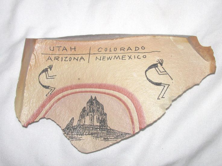 BAHAHZHONIE Rock Art Aka Frank Austin Utah Colorado Arizona New Mexico 8.4 Oz.