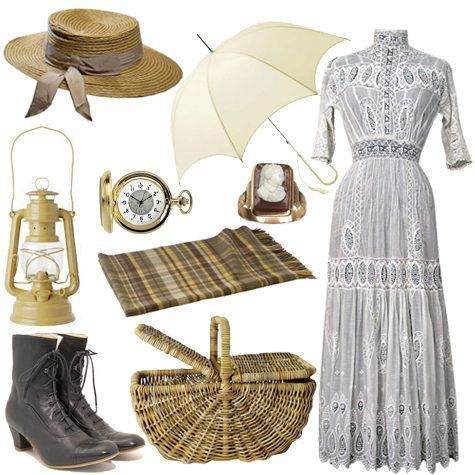 all you need for a vintage picnic...