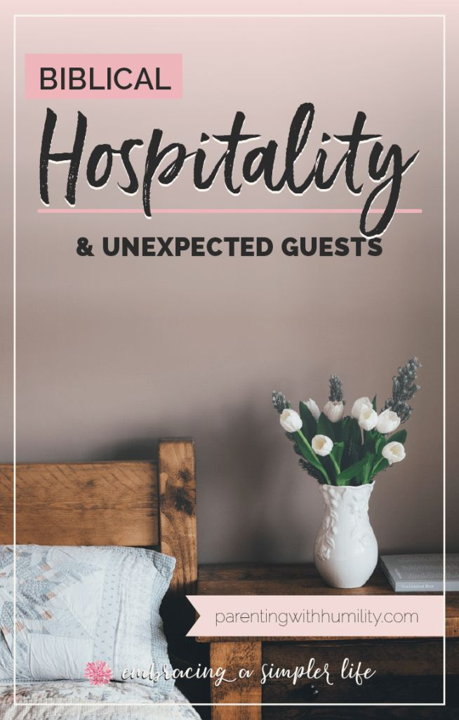God calls His people to show hospitality, not through fancy dinner parties, but through love. But what about when unexpected guests appear? What does it mean to show Biblical hospitality to them?   #biblicalhospitality #christianhospitality