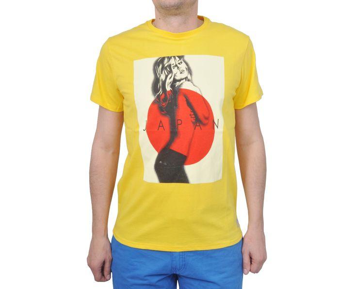 """Ανδρική Μπλούζα T-Shirt """"SingSan"""" σε χρώματα 100% Βαμβάκι"""