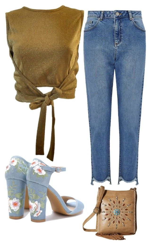"""Easter stroll"" by penkreitto on Polyvore featuring Moschino, Miss Selfridge and M&F Western"