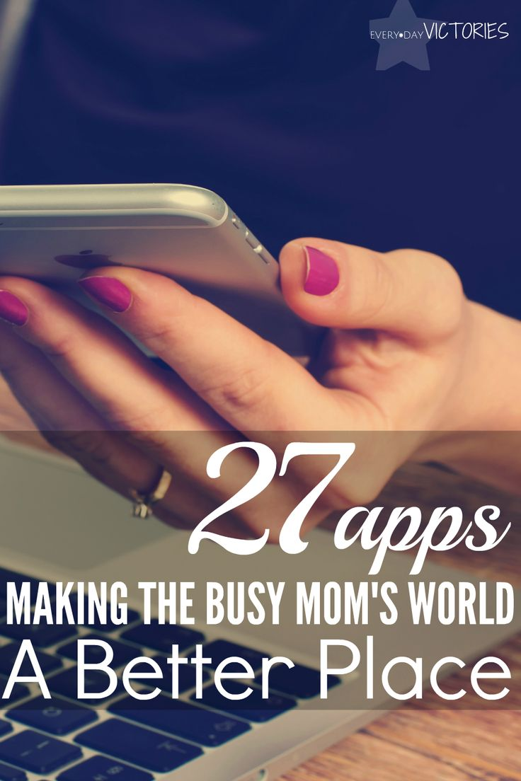 These 27 apps make any busy mom's world a much better place. They keep you organized as you juggle family and work, while inspiring you to approach it all with grace and gratitude. My favorite is Turboscan, which takes a photo and creates a PDF so all those signed school and doctor papers are easily emailed and stored. These apps will instantly make your life so much easier. Complete with download links!