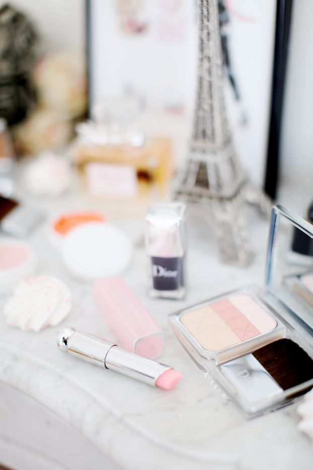 ♥ Rouge / Lipstick Dior Addict Lip Glow ♥ Palette Diorskin Nude