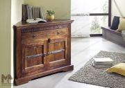 OXFORD Eckkommode #505 Akazie nougat - Mehr im Onlineshop von Massivmoebel24.de - Ihr Spezialist für Massivholz Möbel