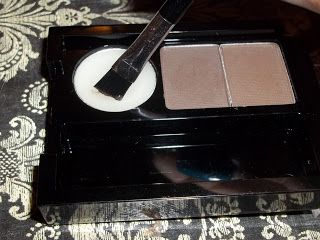 Broke & Fabulous Beauty: Review: NYX Eyebrow Cake Powder + Brow Tutorial