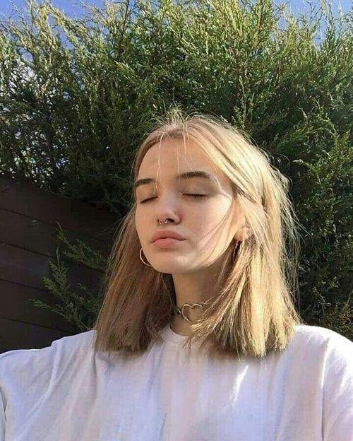 Girl Tumblr And Aesthetic Afbeelding Hair Styles