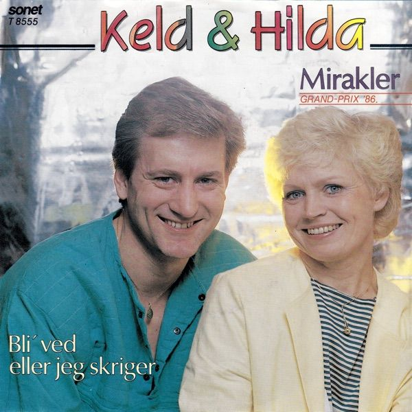 """Mirakler"" performed by Keld & Hilda Heick. Danish National Final 1986."