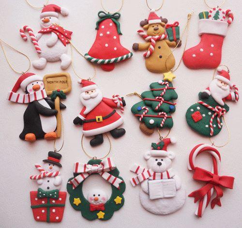 Adornos para el árbol de Navidad