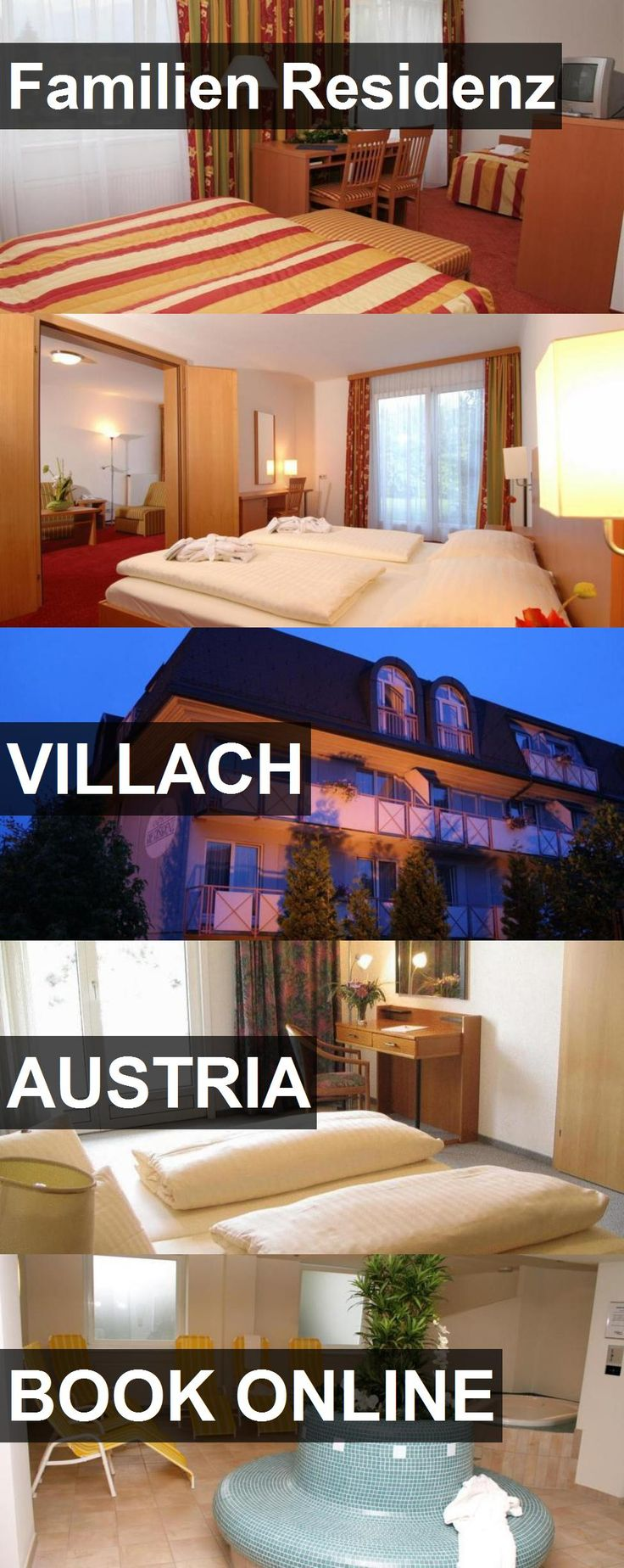 Hotel Familien Residenz in Villach, Austria. For more information, photos, reviews and best prices please follow the link. #Austria #Villach #travel #vacation #hotel