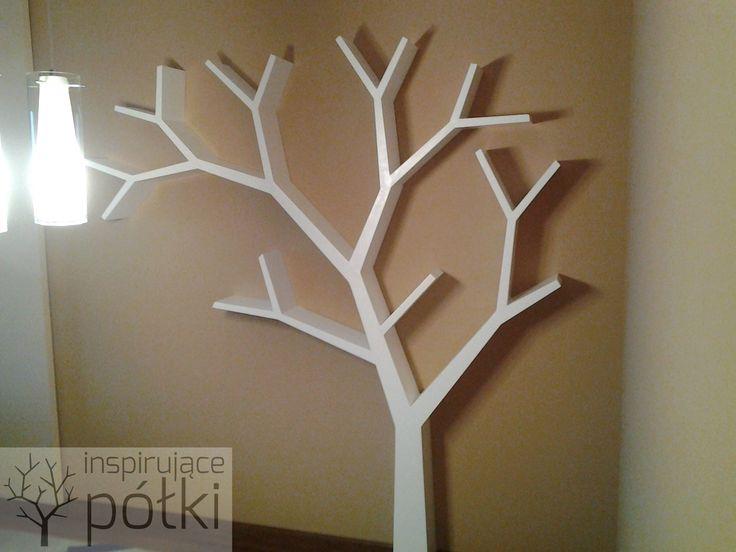 Półka drzewo 210x210x18cm