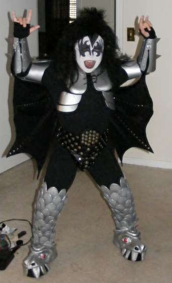 Kiss Gene Simmons costume plans