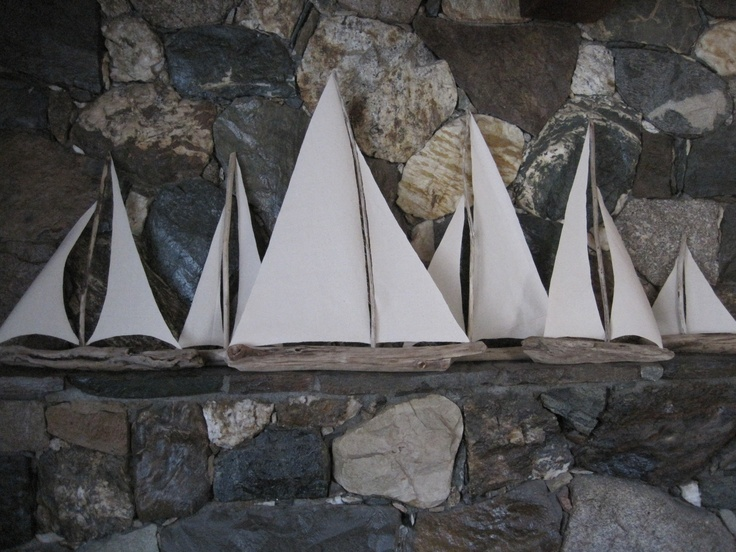 Please send me some driftwood!   So I can make sailboats!