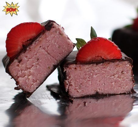 Strawberry Protein Bars