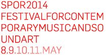 SPOR2014 | FESTIVAL FOR CONTEMPORARY MUSIC AND SOUNDART - Aarhus, Denmark this week (yes I'm going).
