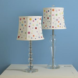 button lampshades :)