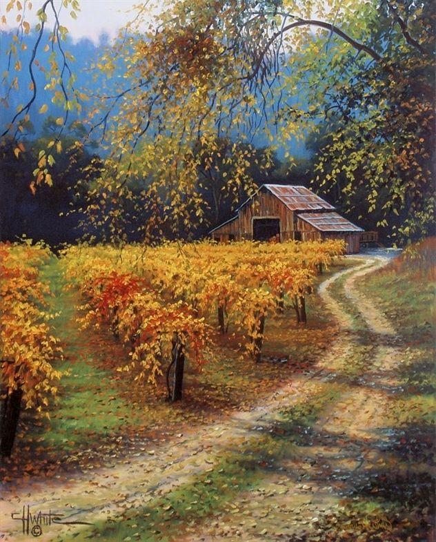 How To Put In A Beautiful Flower Garden For Your Landscape Paisaje Para Pintar Hermosos Paisajes Pinturas Hermosas
