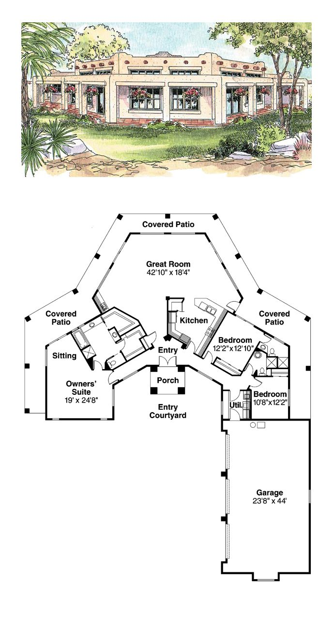 best 25 adobe house ideas on pinterest adobe homes southwestern house plans houseplanscom solar adobe house