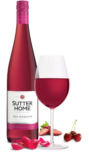 Red Moscato Wine | Sutter Home
