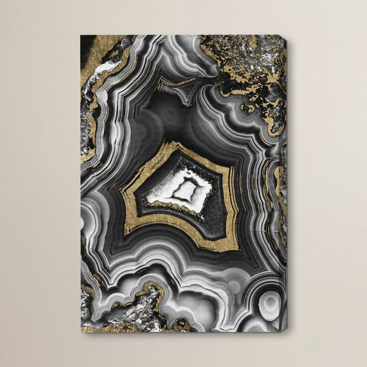 Emeric adoregeo graphic art on wrapped canvas
