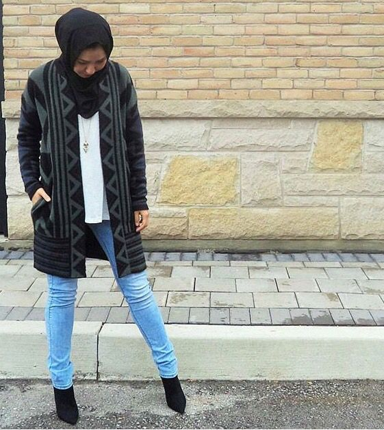 Hijab With Ankle Boots And Sunglasses Mit Hillel