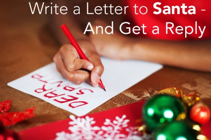send a letter to santa write to santa and get a letter back note a letter and 14134