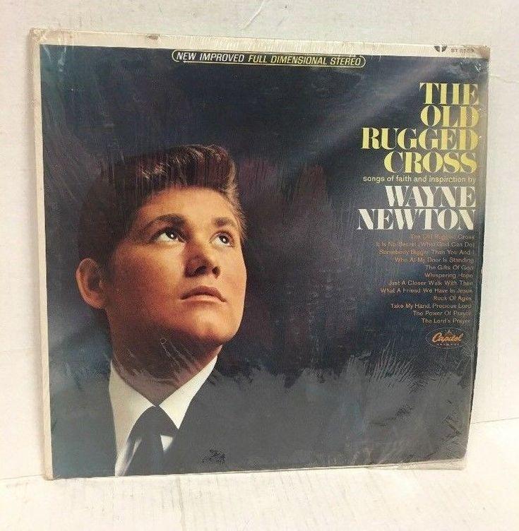 WAYNE NEWTON - THE OLD RUGGED CROSS - CAPITOL LP - STEREO Shrink ST2563 #ChristianGospel