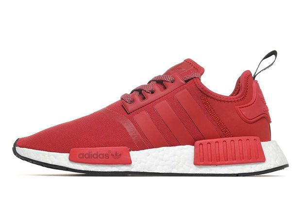#sneakers #news  Another All-Red adidas NMD R1 Just Released Overseas