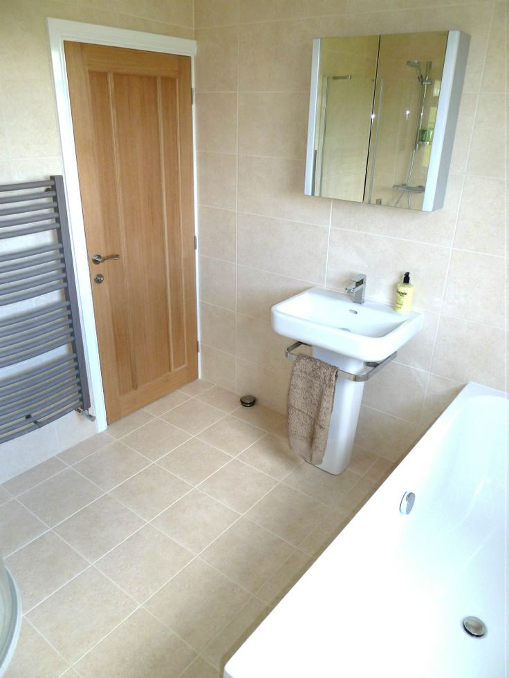 Completed bathroom area in a dormer loft conversion for Bathroom ideas loft conversion
