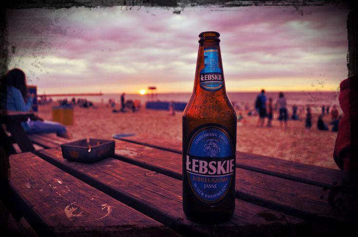 Łeba - łebskie beer