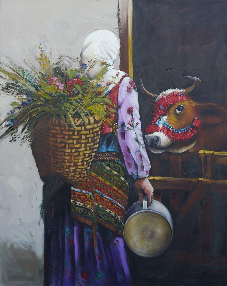 Hatçe yenge Painter Hacer Sarı