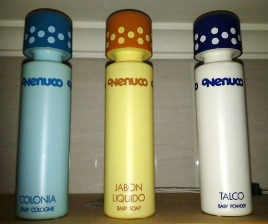 Nenuco - my first perfume! This is what my childhood smelled like!