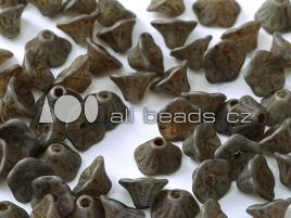 Flower Cup Beads 7 x 5 mm Crystal 15664