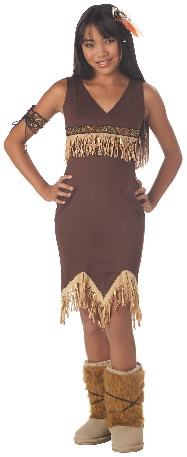 Indian Princess Tween Costume