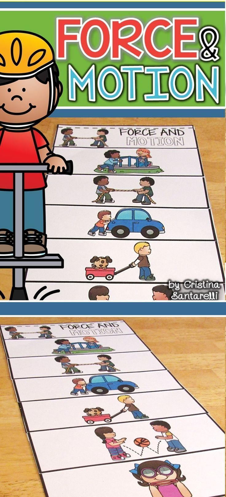 force and motion flip book activities kindergarten science and kindergarten. Black Bedroom Furniture Sets. Home Design Ideas