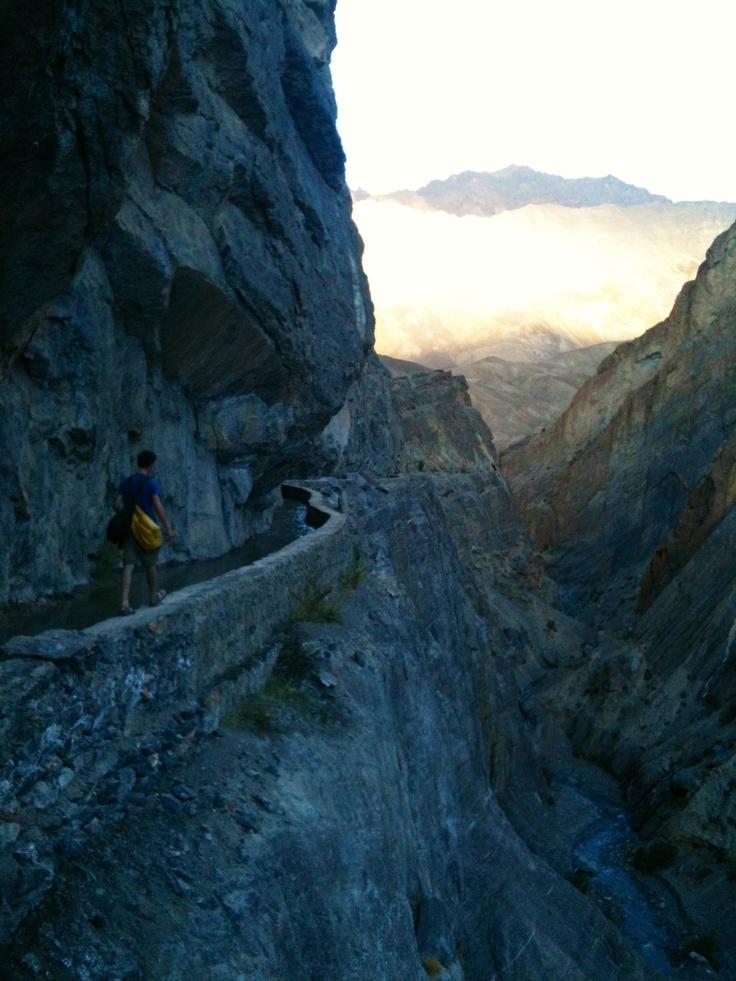 """Do not follow where the path may lead. Go instead where there is no path""  @ Zanskar valley, Ladakh, India (Himalaya) By zsombor nagy"
