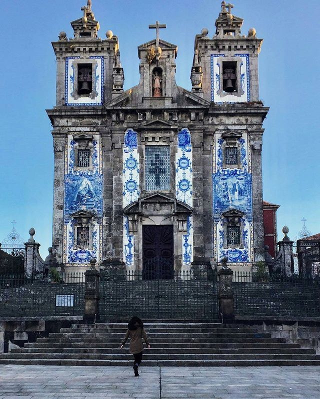 church of saint ildefonso @idrather_betraveling, porto.