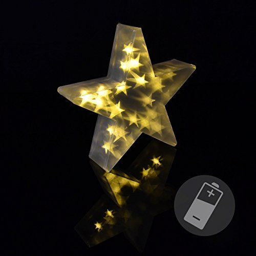 20 LED PVC Stern warm weiss 3D Holografie-Effekt Weihnachtsstern 35 cm Timer Nipach GmbH http://www.amazon.de/dp/B014UMTWZM/ref=cm_sw_r_pi_dp_Gv4pwb1YV21FX