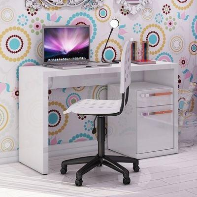 Escrivaninha para Computador S970 Branco - Kappesberg