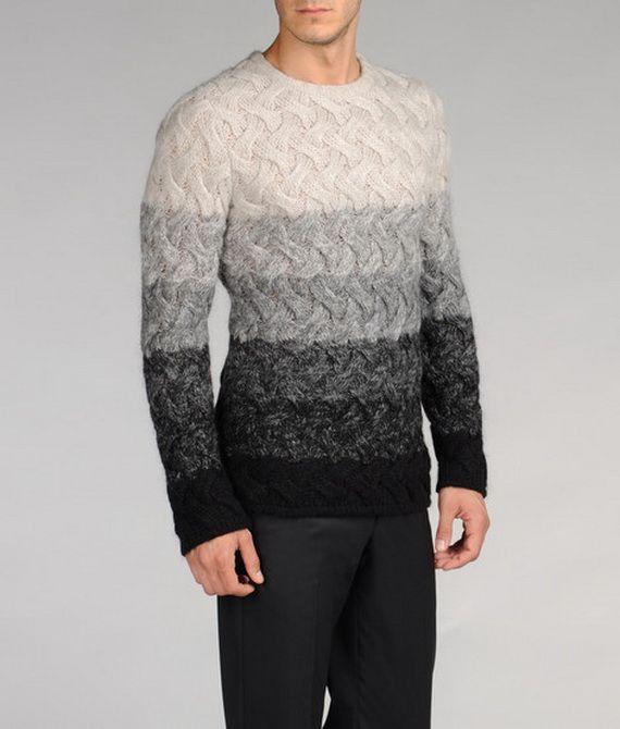Male Fashion Sweater