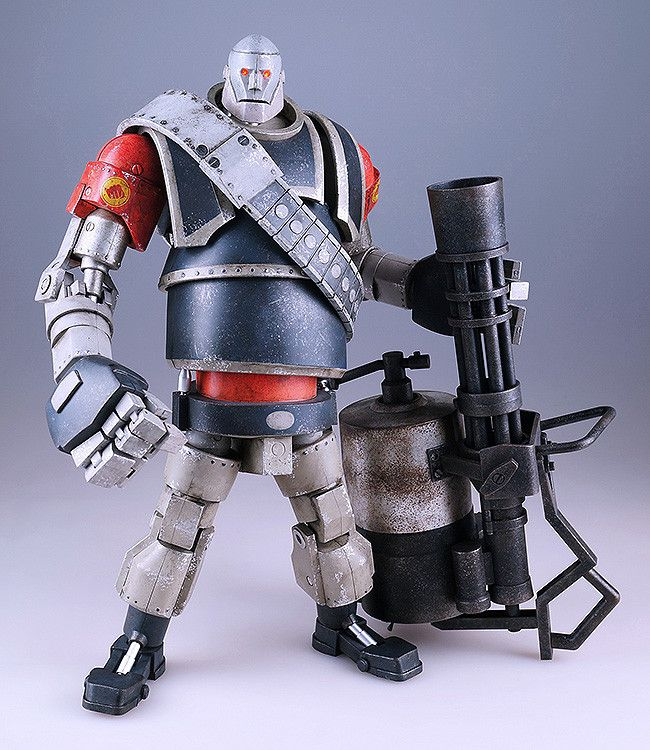 Team Fortress 2 Robot Heavy Red