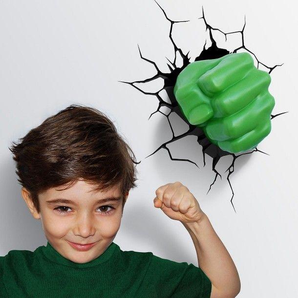 Lampes Super-Héros pour protéger la chambre de votre enfant
