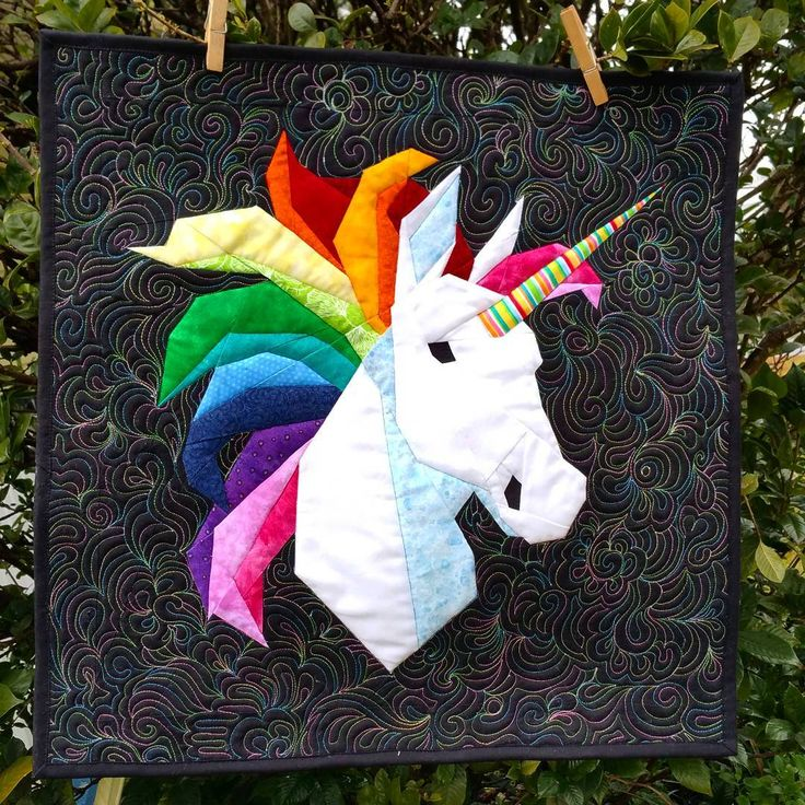 Robynieland Your Makes Unicorn Block Quilting