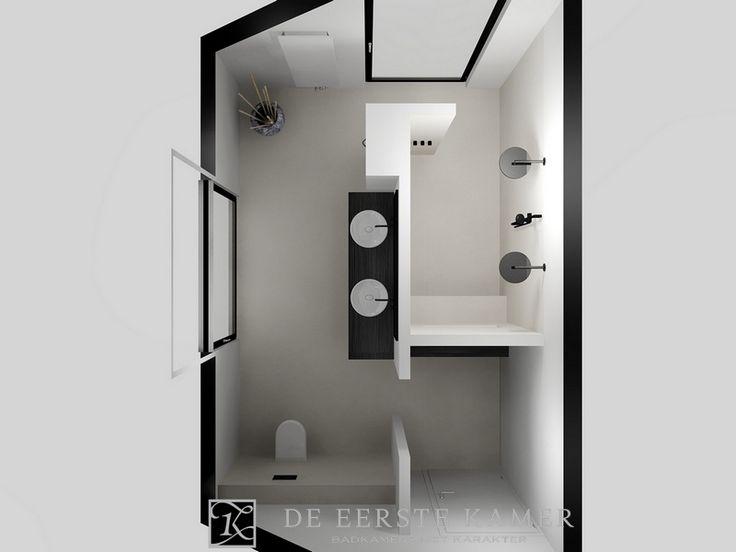 25 beste idee n over dubbele douche op pinterest - Een mooie badkamer ...